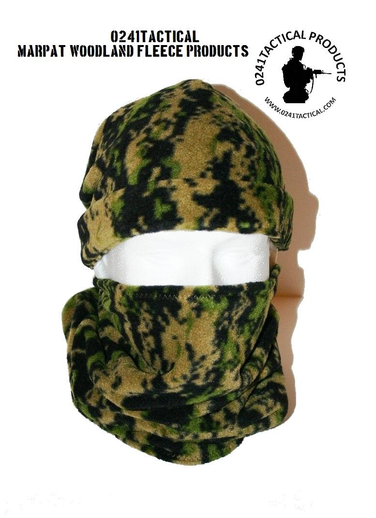 0241 Tactical Desert Marpat Fleece Neck Gaiter Tactical Kit